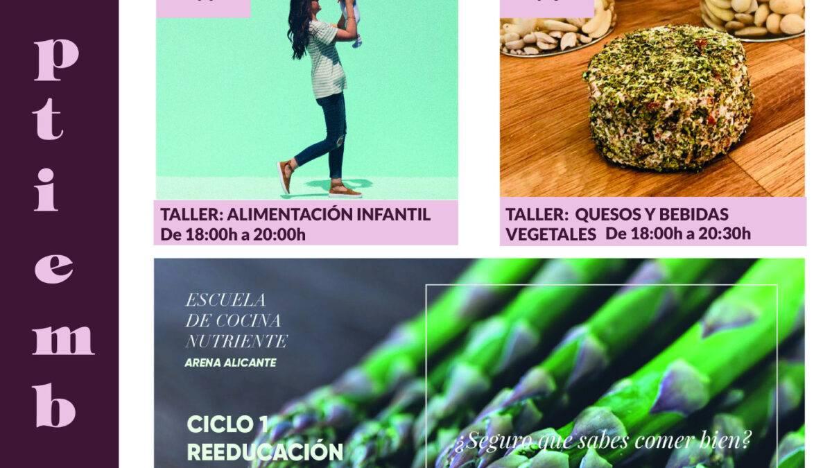 Programación septiembre AQDV - Arena Alicante