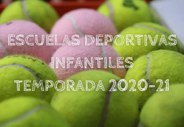 ESCUELAS DEPORTIVAS INFANTILES TEMPORADA 2020-21