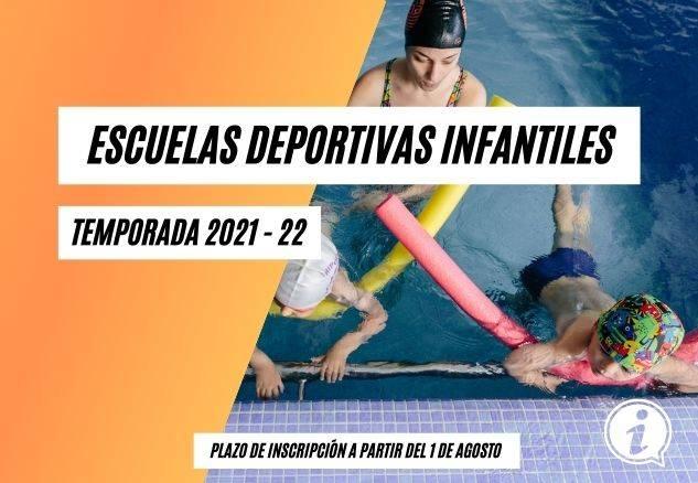 escuelas deportivas infantiles 2021-22